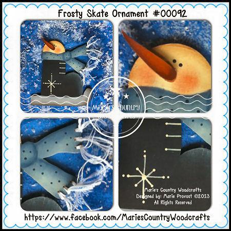 MP Frosty Skate Orn. (6)