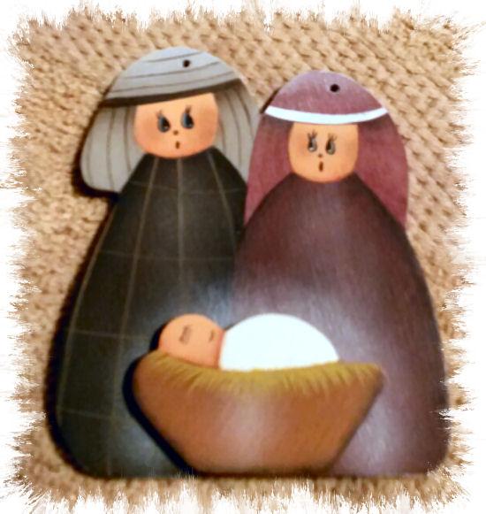 MB Nativity Ornament  (3)