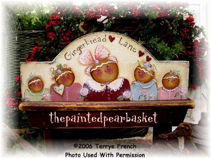 000129 (3) Gingerbread Lane Door Crowns