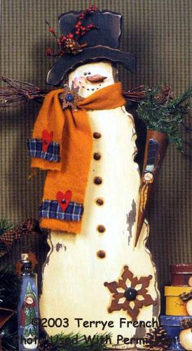 000973 (2) My Favorite Things Snowman