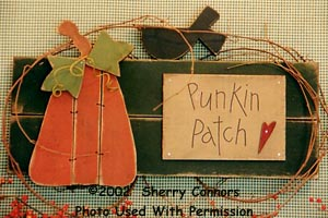 000400 (3) Punkin' Patch Signs