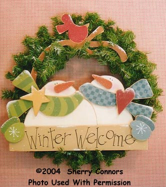 000419 (3) Winter Welcome Wreaths