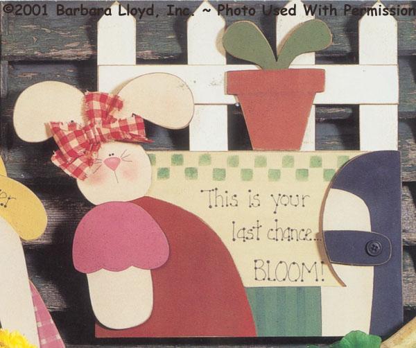 000299 (3) Bloom....Bunny Signs