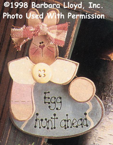 000293 (12) Egg Hunt Ahead Pins