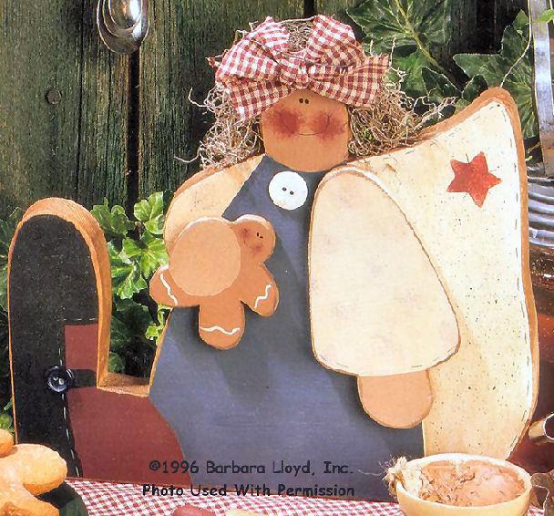 000048 (6) Gingerbread Angels