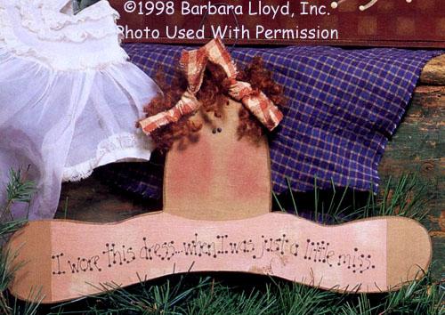 000758 (6) Girl Hangers