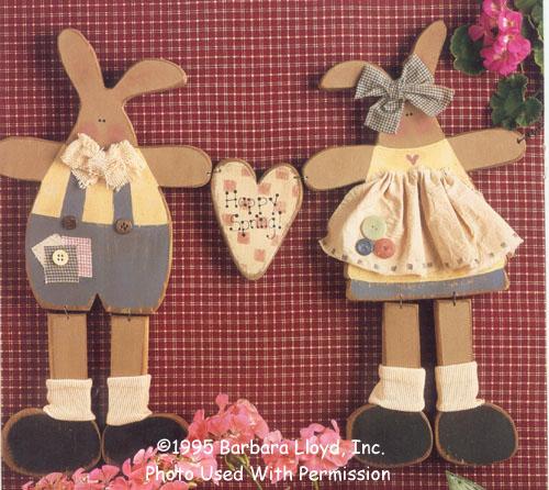 000958 (2) Happy Spring Bunnies