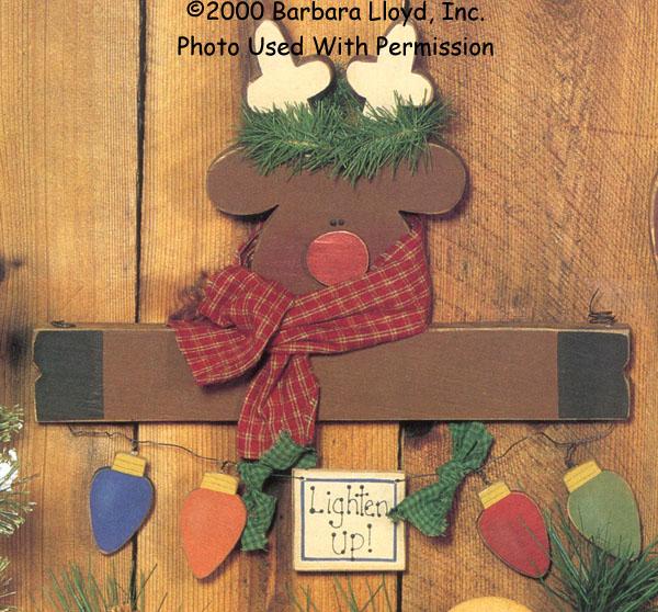 000868 (6) Lighten Up Reindeer Signs
