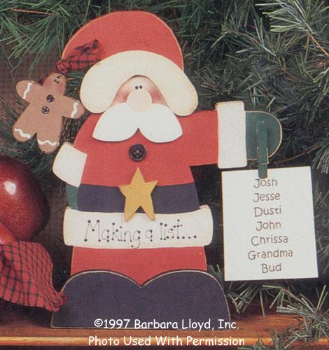 000760 (3) Making A List Santa
