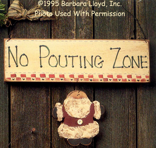 000877 (3) No Pouting Zone Signs