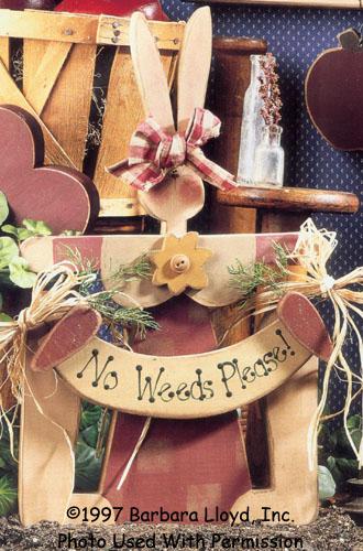 000772 (3) No Weeds Please Bunny