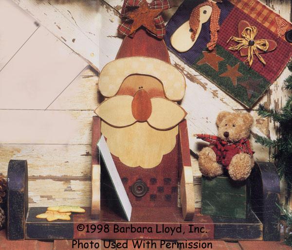 000909 (1) Jolly Old St. Nick Shelf