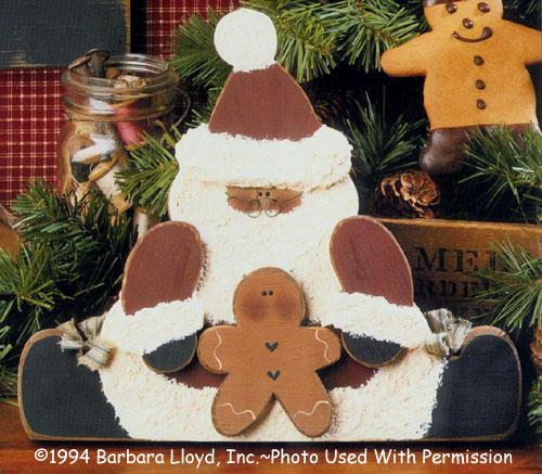 000825 (3) Santa and His Gingerbread Man