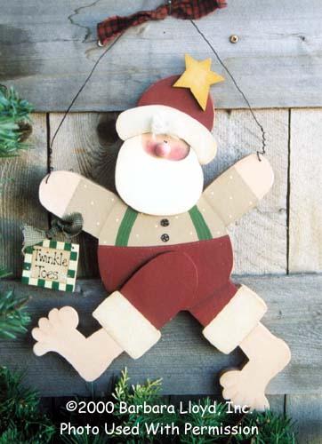 000117 (3) Twinkle Toes Santas