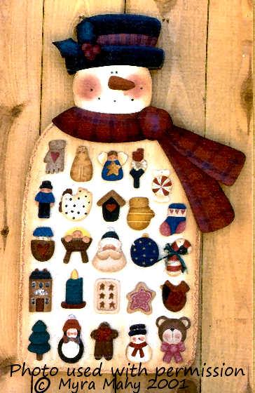 001198 (1) Snowman Advent Calendar