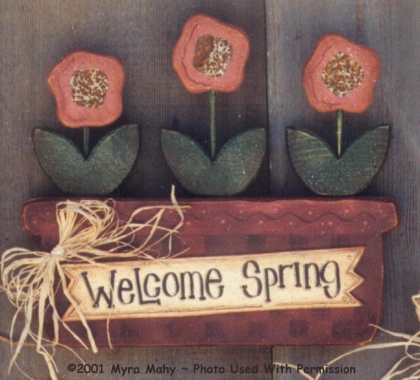 000104 (3) Welcome Spring Signs