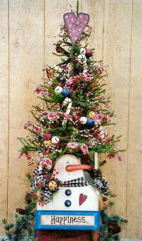 001180 (1) Happines snowman box