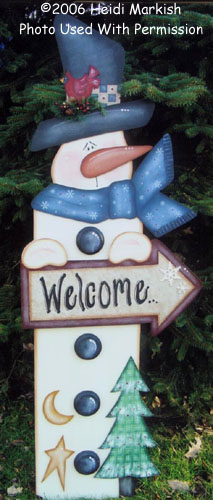 000748 (1) Welcome Snowman