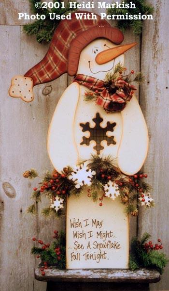 000455 (1) Wish I May Snowman