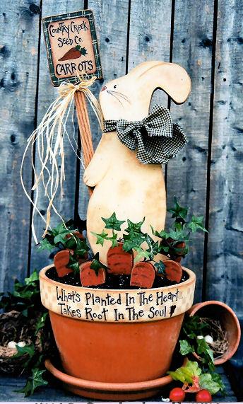 200073 (1) Gardening Bunny