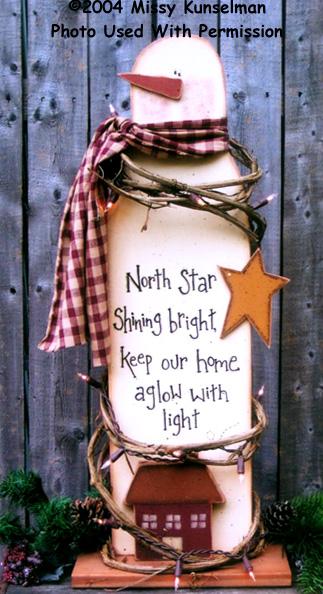 000665 (1) North Star Snowman