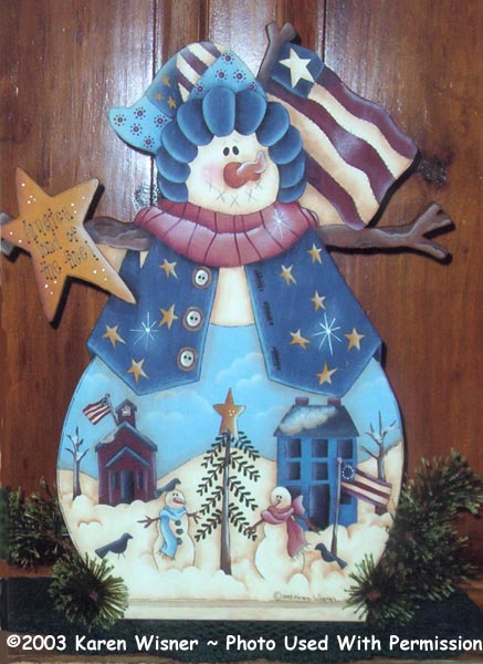 000219 (3) Americana Snowmen-Americana, patriotic, snowman, winter, christmas, holiday