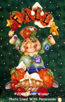 001151 (6) Fall Scarecrow-