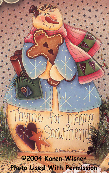 000475 (6) Mary's Making Snowfriends-