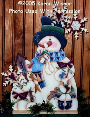 000598 (2) Thyme For Makin Snowfriends-